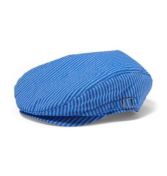 Striped Newsboy Cap
