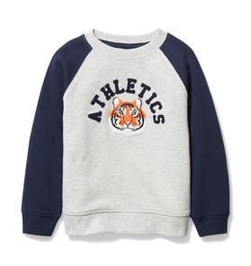 Raglan Tiger Sweatshirt