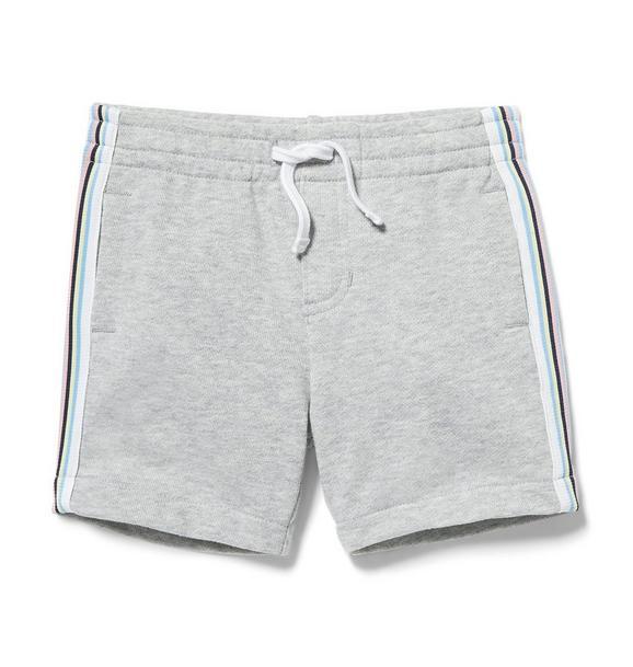 Sport Stripe Knit Short