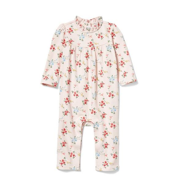 Baby Floral Ruffle 1-Piece