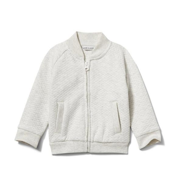 Janie and Jack Baby Quilted Cardigan