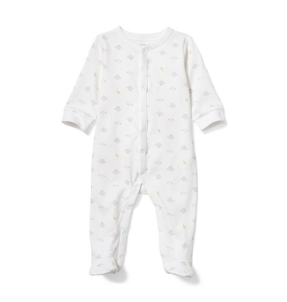 Baby Sheep Footed 1-Piece