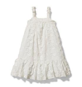 Floral Jacquard Midi Dress