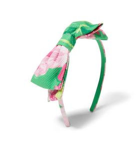 Rose Bow Headband