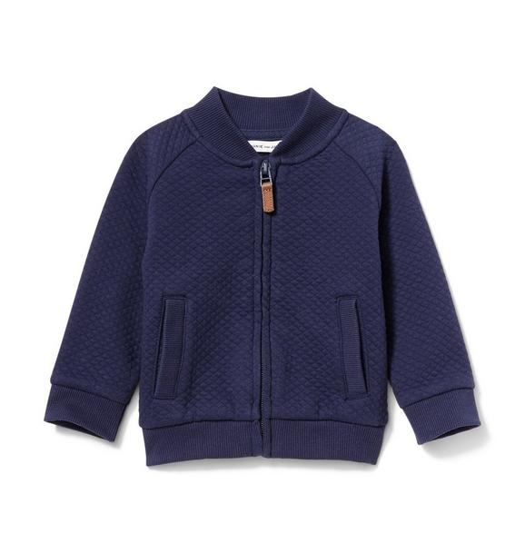 Baby Quilted Cardigan