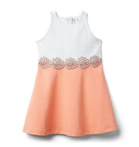 Colorblocked Ponte Dress