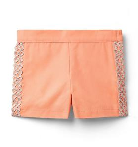 Metallic Trim Short