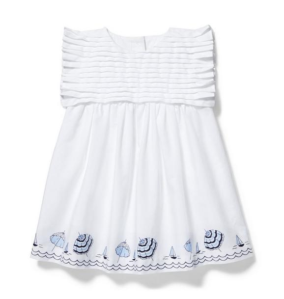 Baby Umbrella Border Dress