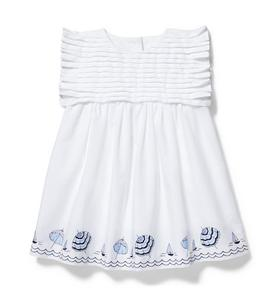 Baby Umbrella Border Dress