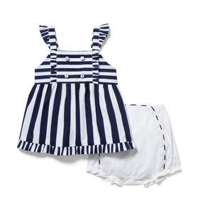 Baby Striped Matching Set