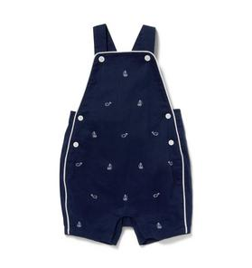 Baby Sailboat & Whale Shortall