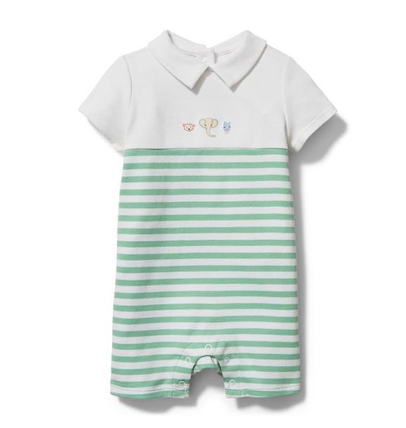 Baby Polo Romper