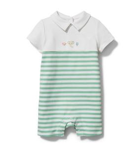 Baby Polo Romper