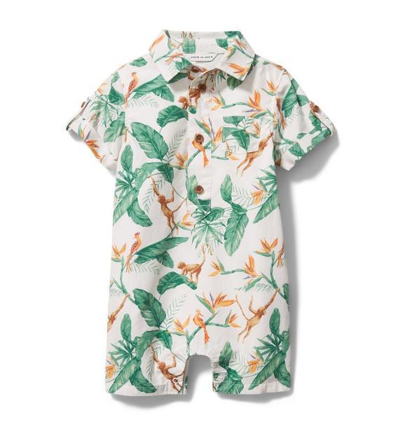 Baby Tropical Romper