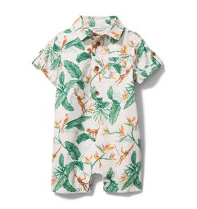 Baby Tropical Romper