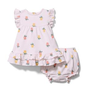 Baby Pineapple Matching Set