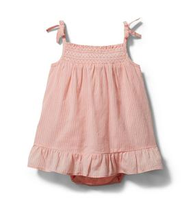 Baby Tiered Smocked Romper