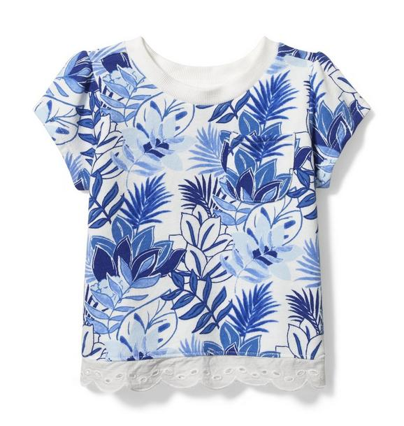 Floral French Terry Tee