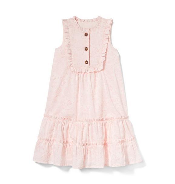 Floral Maxi Ruffle Dress