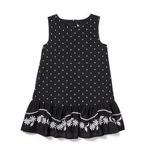 Embroidered Dropwaist Dress