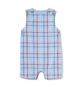 Baby Plaid Poplin Shortall
