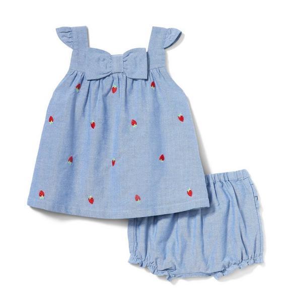 Baby Strawberry Matching Set