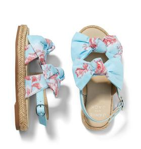 Floral Bow Espadrille