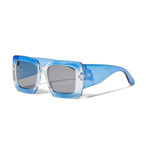 Ombre Square Sunglasses