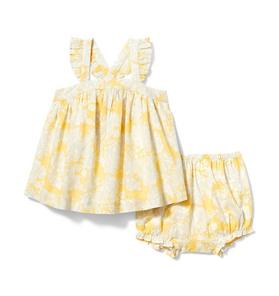Janie and Jack Baby Floral Matching Set