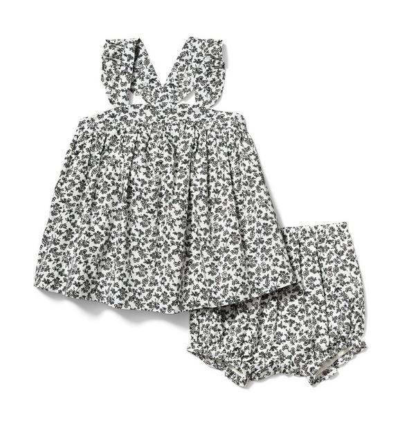 Baby Ditsy Floral Matching Set