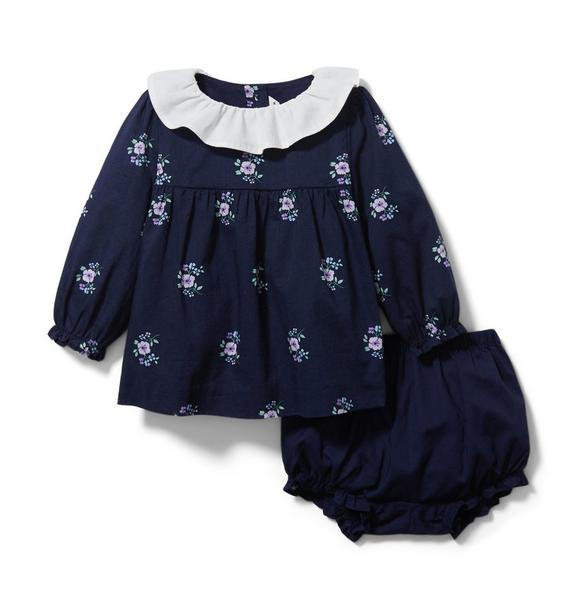 Baby Flower Matching Set