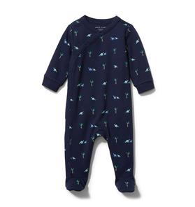 Baby Dinosaur Footed 1-Piece