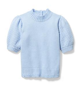 Puff Sleeve Sweater Top