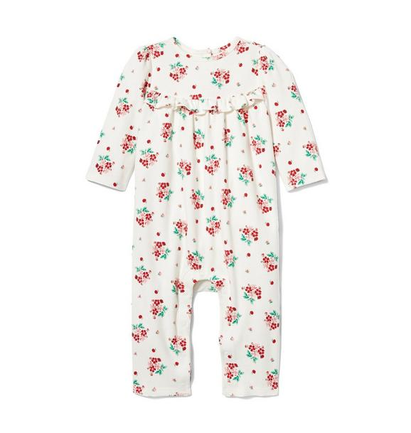 Baby Floral Cherry 1-Piece