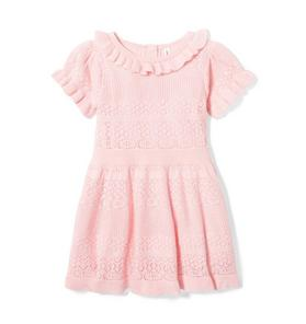 Baby Ruffle Sweater Dress