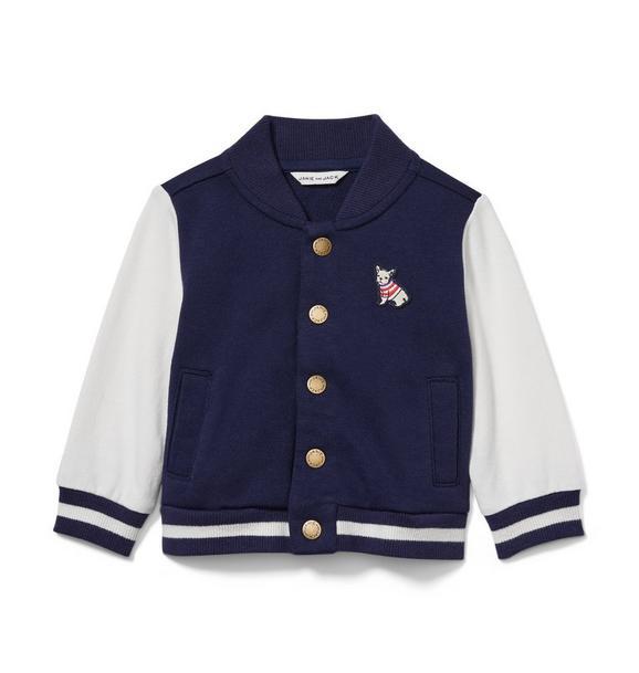 Baby Frenchie Varsity Jacket