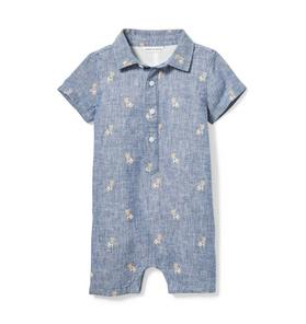 Baby Frenchie Oxford 1-Piece