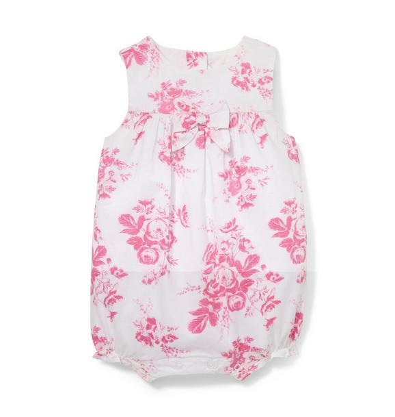 Pink Floral 1-Piece