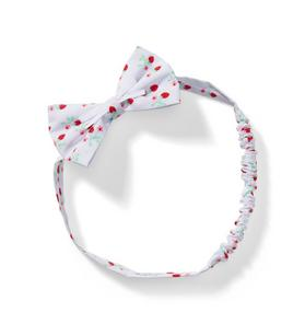 Baby Strawberry Ditsy Headband