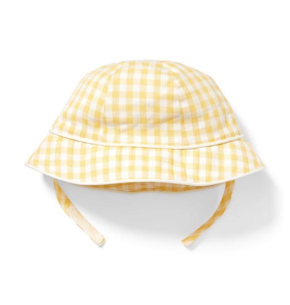 Baby Gingham Bucket Hat
