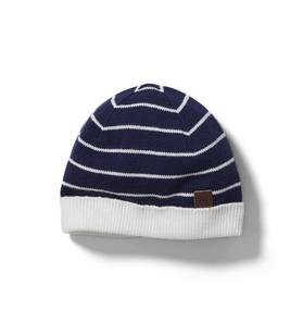 Baby Striped Beanie