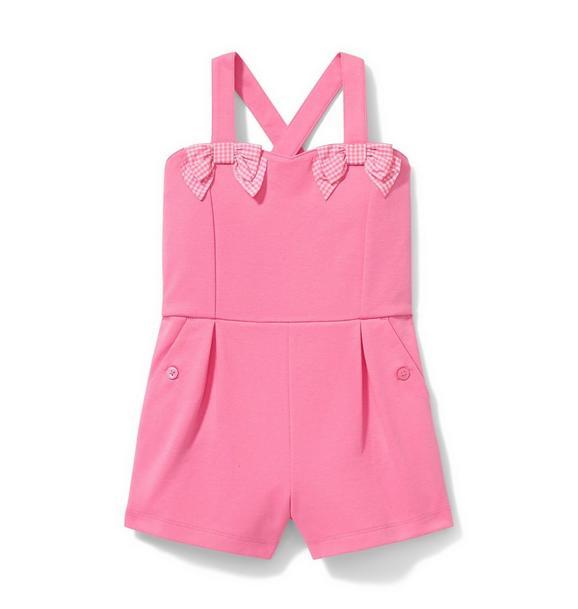 Pink Ponte Romper