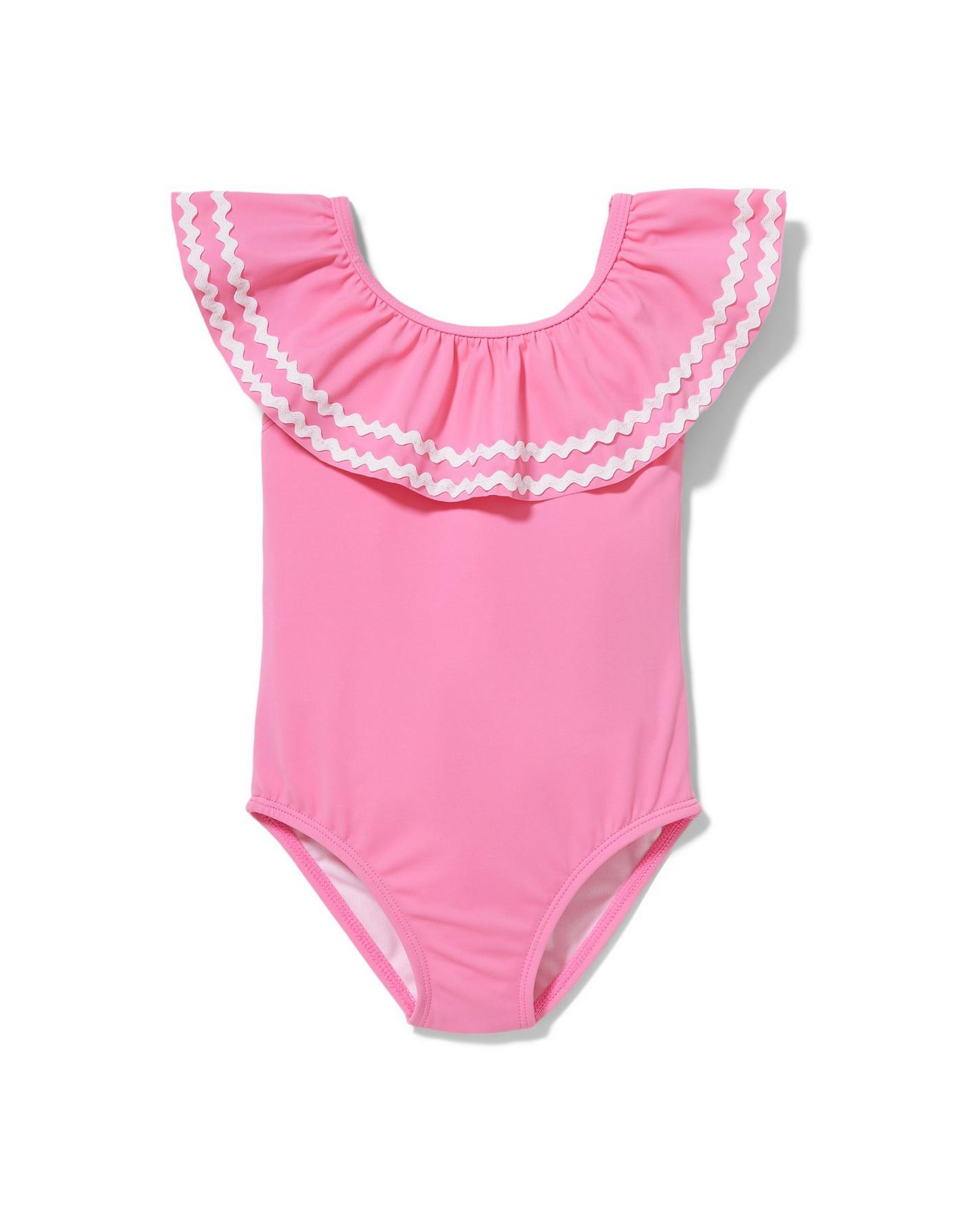 Think Pink Ric Rac Swimsuit