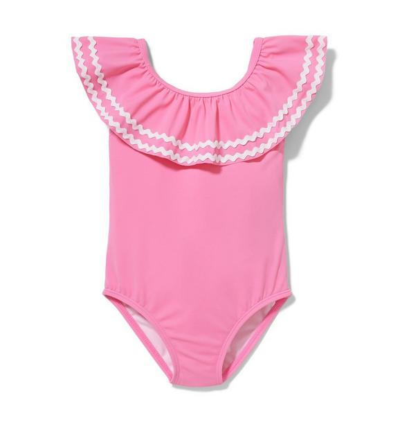 Pink Ric Rac Swimsuit