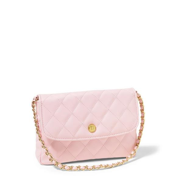 Think Pink Quilted Purse