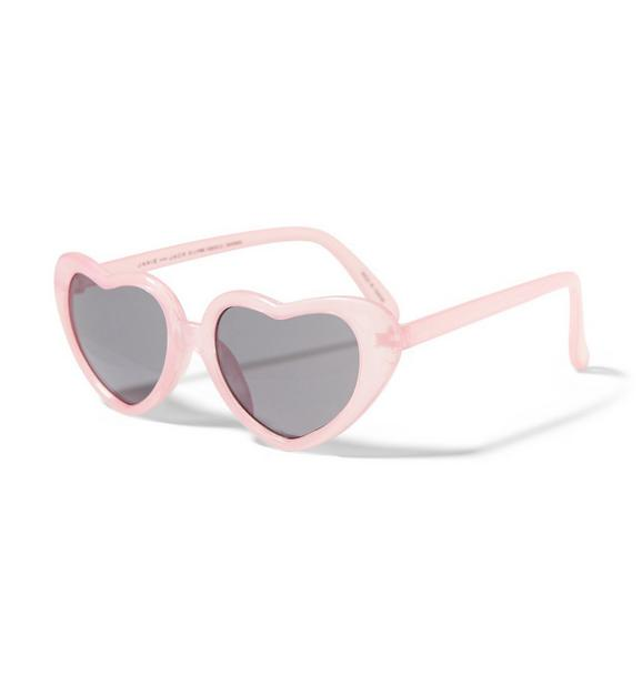 Think Pink Heart Sunglasses
