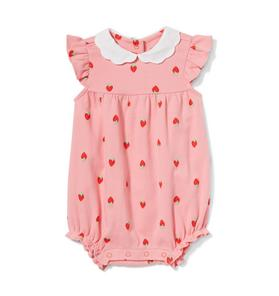 Baby Strawberry Romper