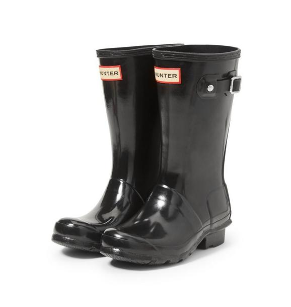 Hunter Original Big Kids Gloss Rain Boot