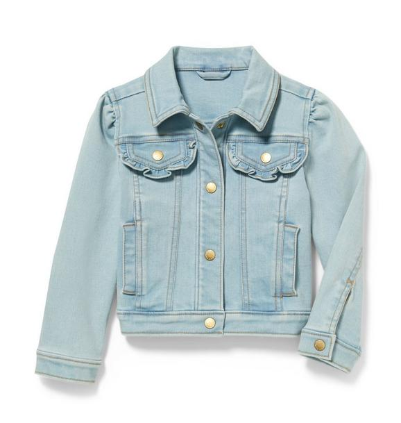 Denim Jacket in Glacier Blue Wash