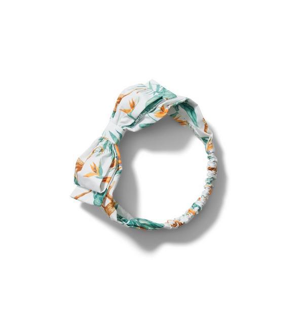 Tropical Soft Bow Headband